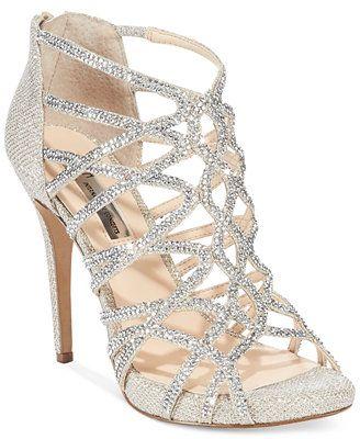 prom shoes inc international concepts womenu0027s sharee2 high heel evening sandals $119  macyu0027s TLNJIZY