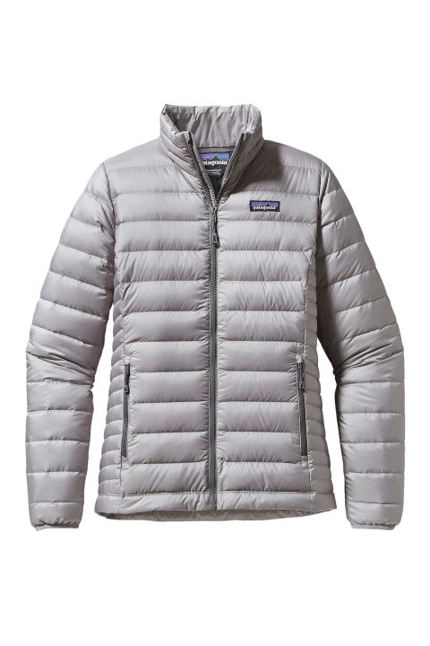 puffer jackets patagonia down sweater jacket, $229; patagonia.com WDSYMKC