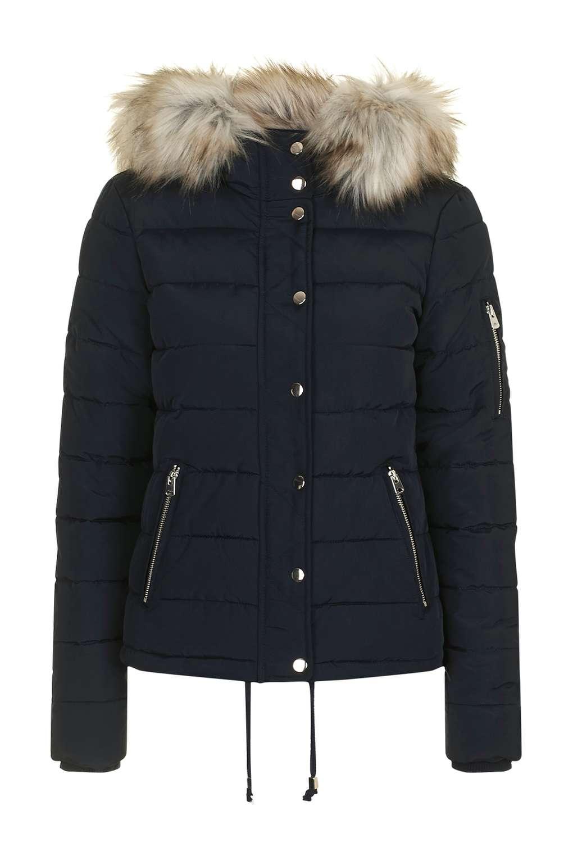 puffer jackets petite puffer jacket - jackets u0026 coats - clothing - topshop UQVPNPJ