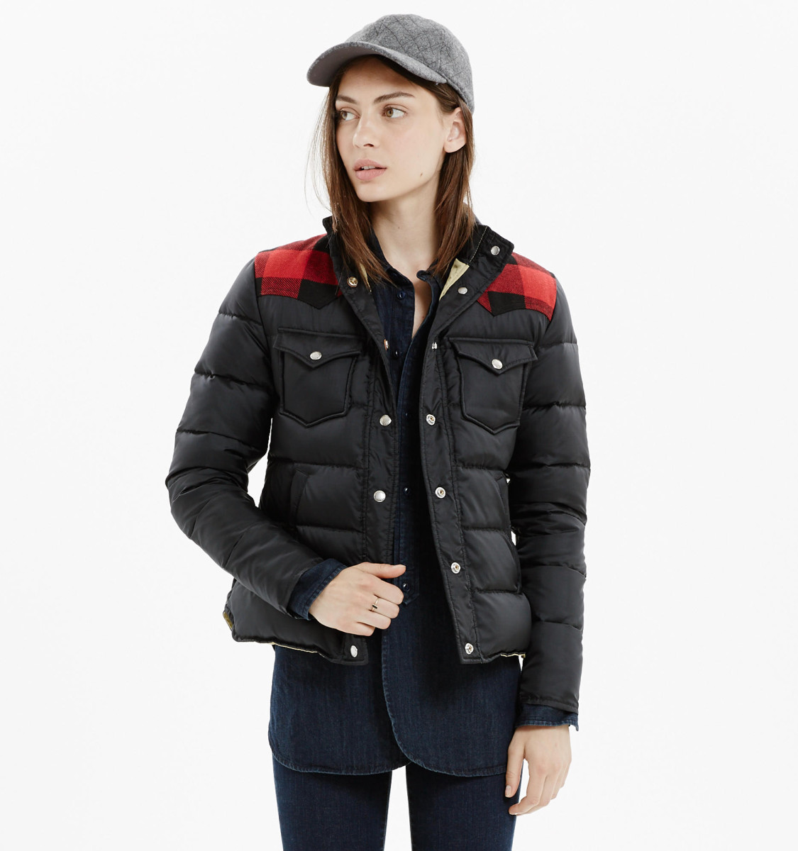 puffer jackets photo: madewell VLVNZAA