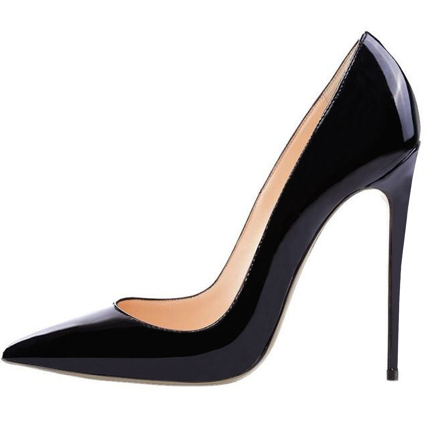 pumps shoes amazon.com | lovirs womens pointed toe high heel slip on stiletto pumps  wedding party YBRZWCQ
