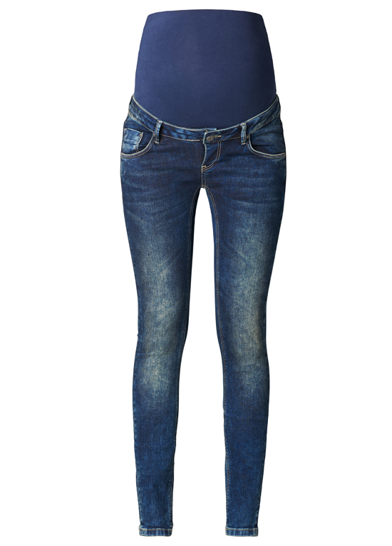 queen bee blue skinny maternity jeans by supermom PSKJWHE