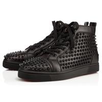red bottom shoes men - original box men shoes red bottom sneaker luxury  party EGIBDIP