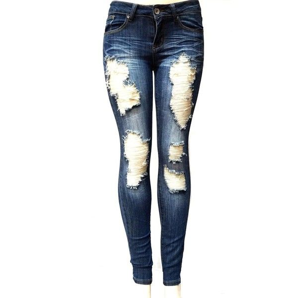 ripped skinny jeans 200+ cute ripped jeans outfits for winter 2017 HWRPHQO