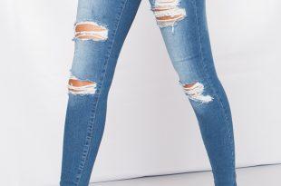 ripped skinny jeans loading zoom YFLXNLI
