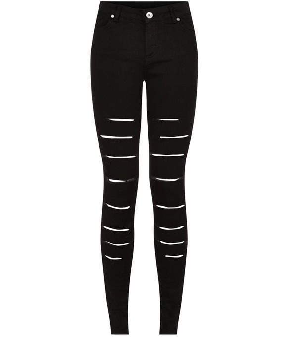 ripped skinny jeans zoom WFVEUWB