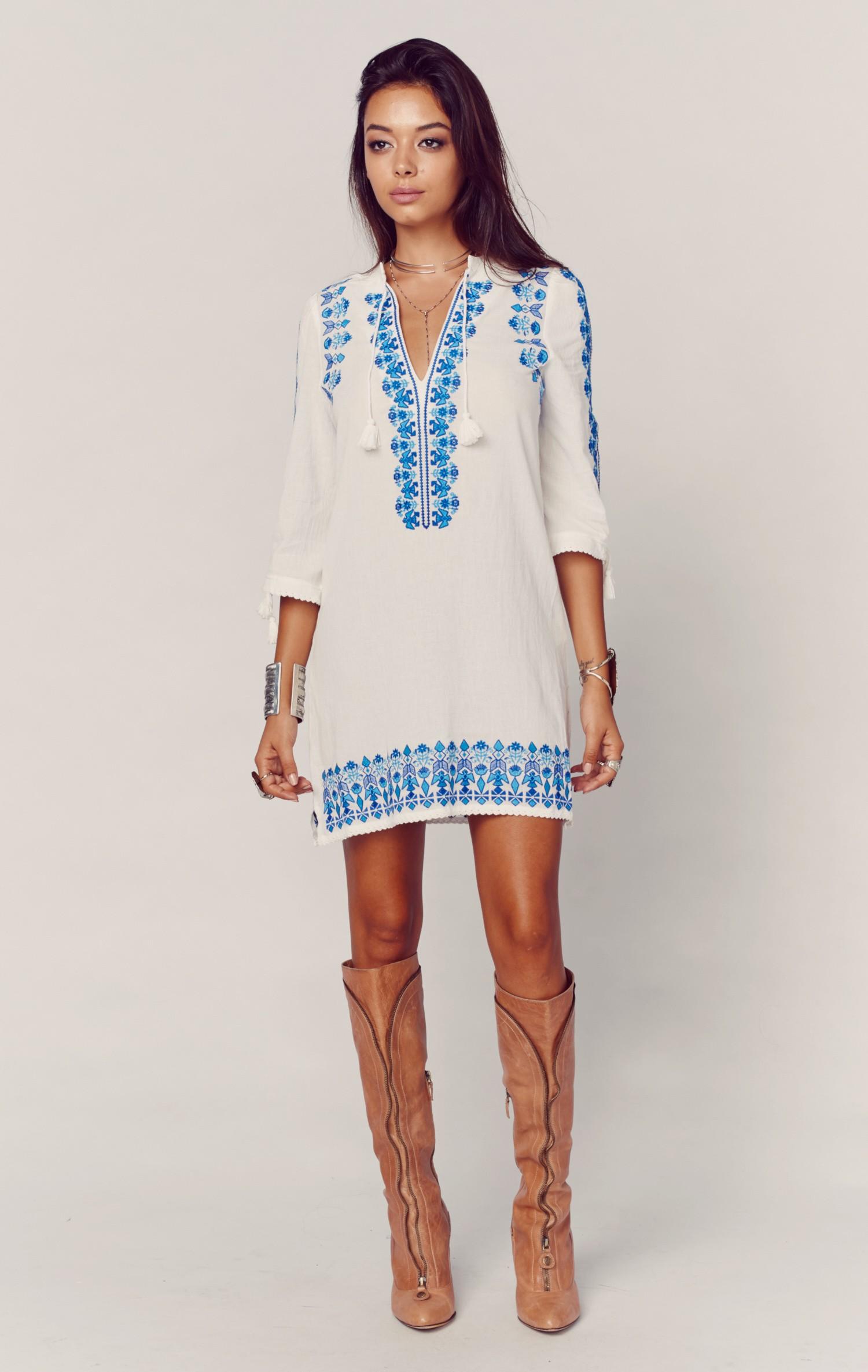 santorini tunic dress SMUJTRH