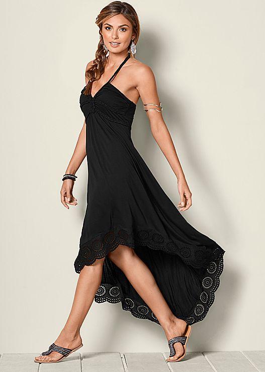 sexy black dresses high low halter dress $54 $39.99 KEPHXXR