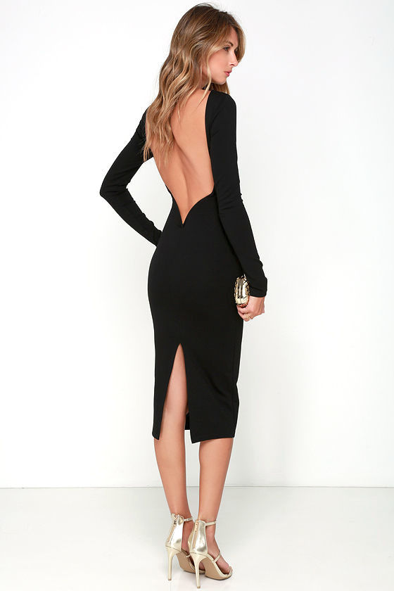 Guide to wear a backless dress