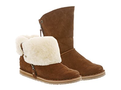 sheepskin boots rju0027s fuzzies womenu0027s trixie sheepskin boot 6 chestnut ISECZBA