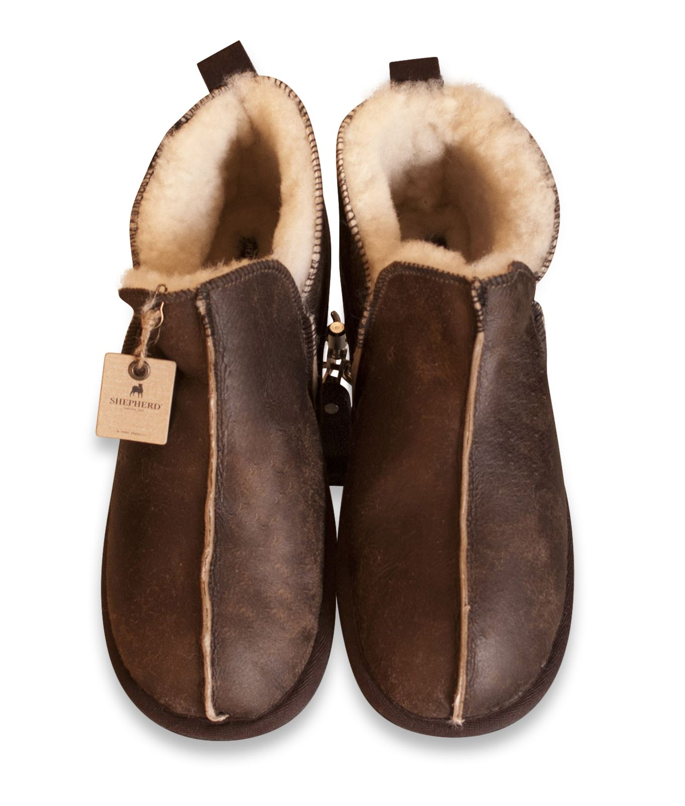 sheepskin boots shepherd-ladies-genuine-sheepskin-slippers-boots-hard-sole- KTSSERH