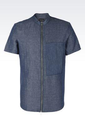 shirts for men armani short sleeve shirts men shirts EJRMXIX