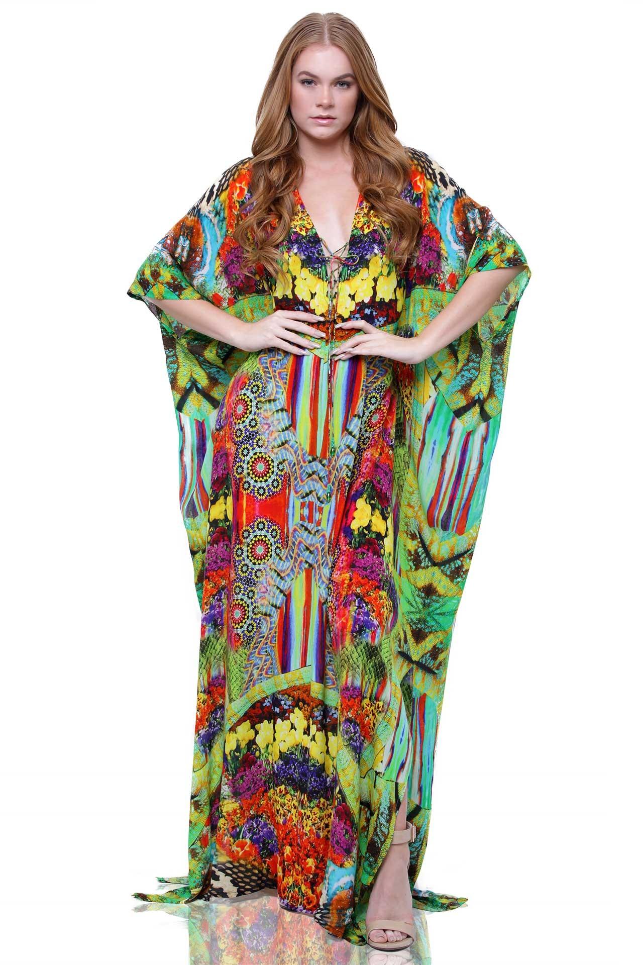 shop silk kaftans and long kaftan dresses | shahida parides - shahida  parides BKNNAZB