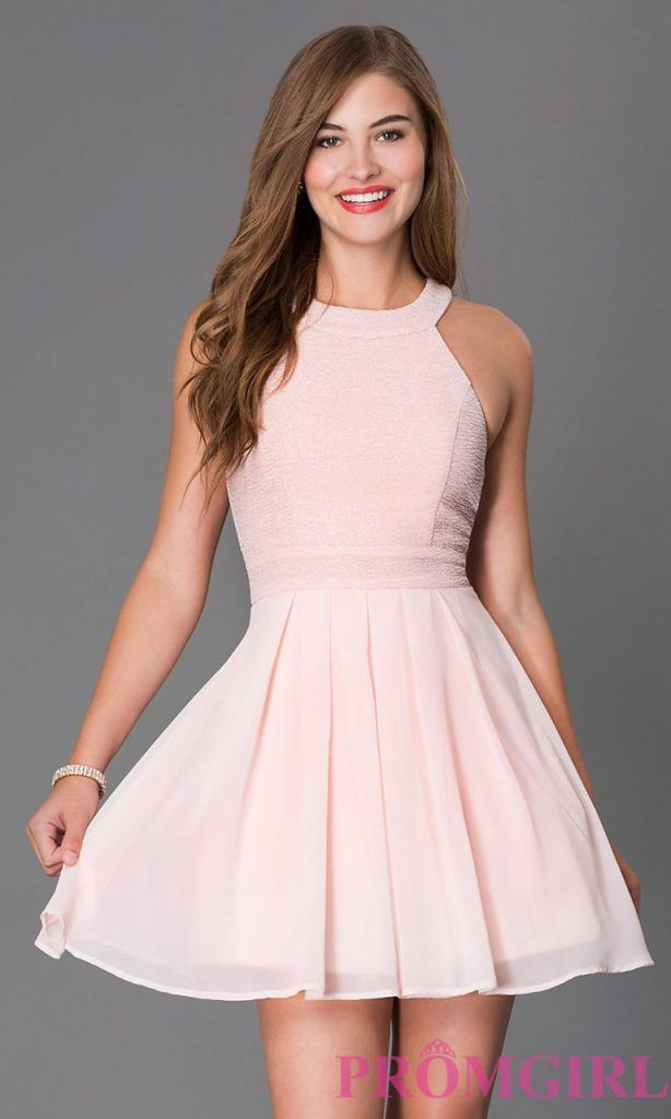 short semi formal dresses AGEBMMH