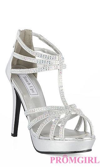 silver heels prom dresses, plus-size dresses, prom shoes - promgirl: tu-546m-toni XUKTHEV
