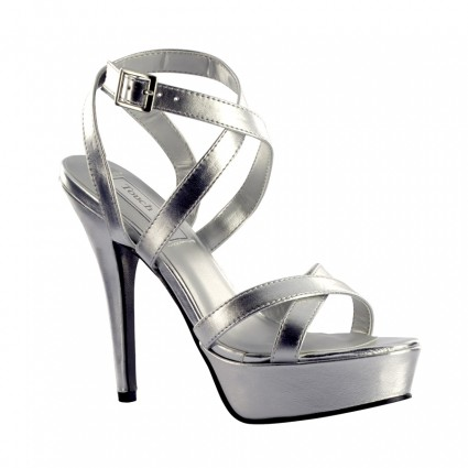 silver shoes andrea silver by touch ups LAFKXRU