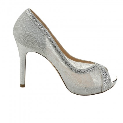 silver shoes barbara-19 by de blossom in silver PVIGZXC