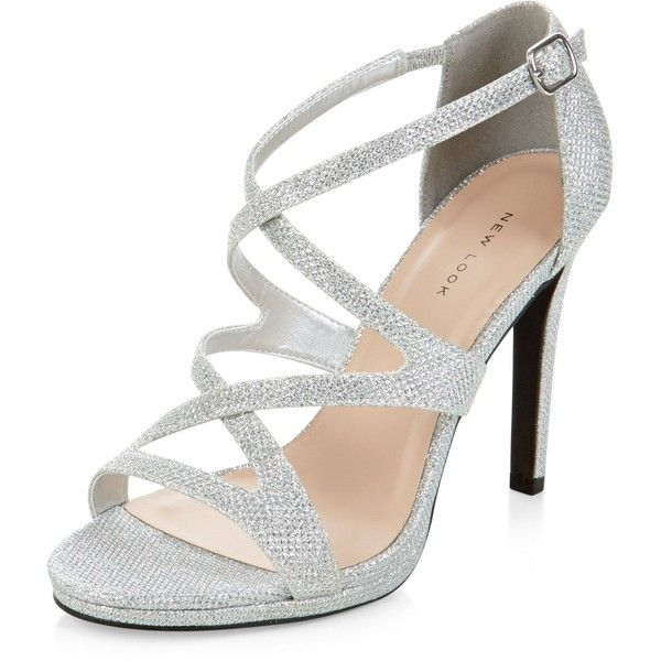 The versatile looking silver shoes