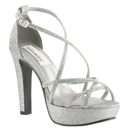 silver shoes taylor by dyeables wedding shoes in silver QZNPMUT