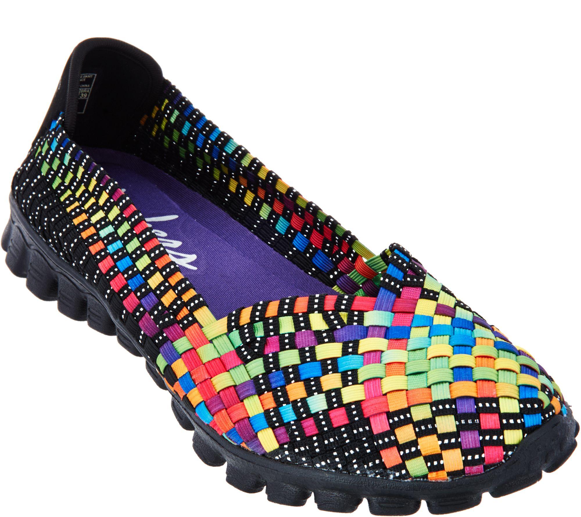 skechers shoes skechers stretch woven slip-on shoes w/ memory foam - delphi - page 1 - YBENKGN