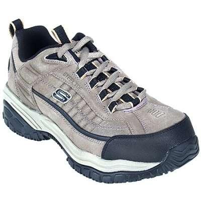skechers shoes: steel toe soft stride dexter shoes 76760pbl IRRZOVI