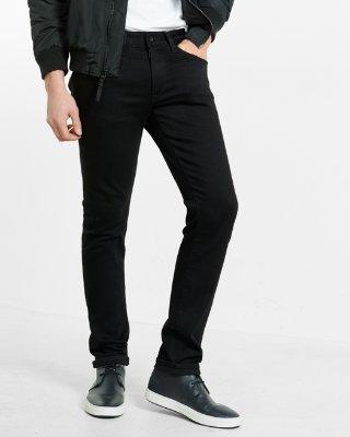 skinny jeans for men ... skinny black stretch+ jeans HRGJGLK