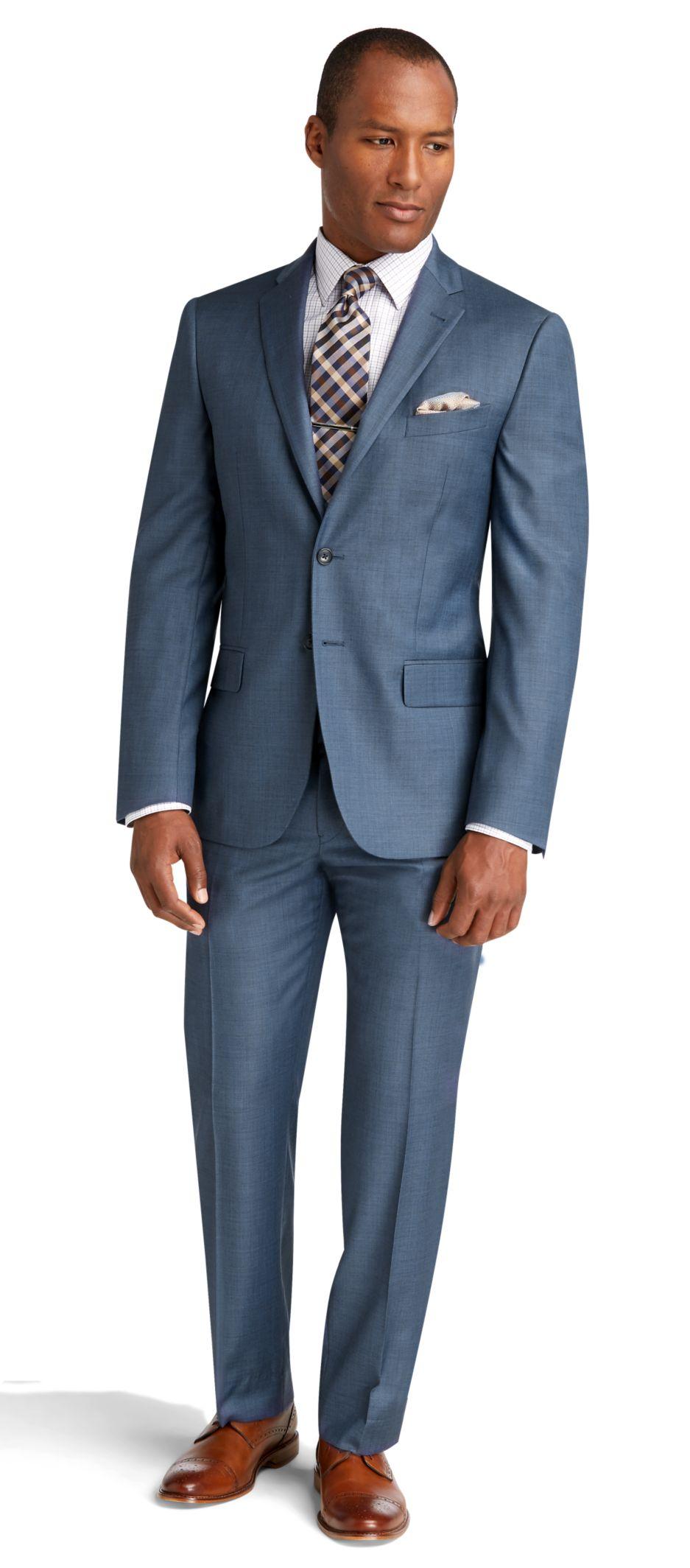 slim fit suits menu0027s suits, reserve collection slim fit sharkskin suit - jos a bank OMFPDGV