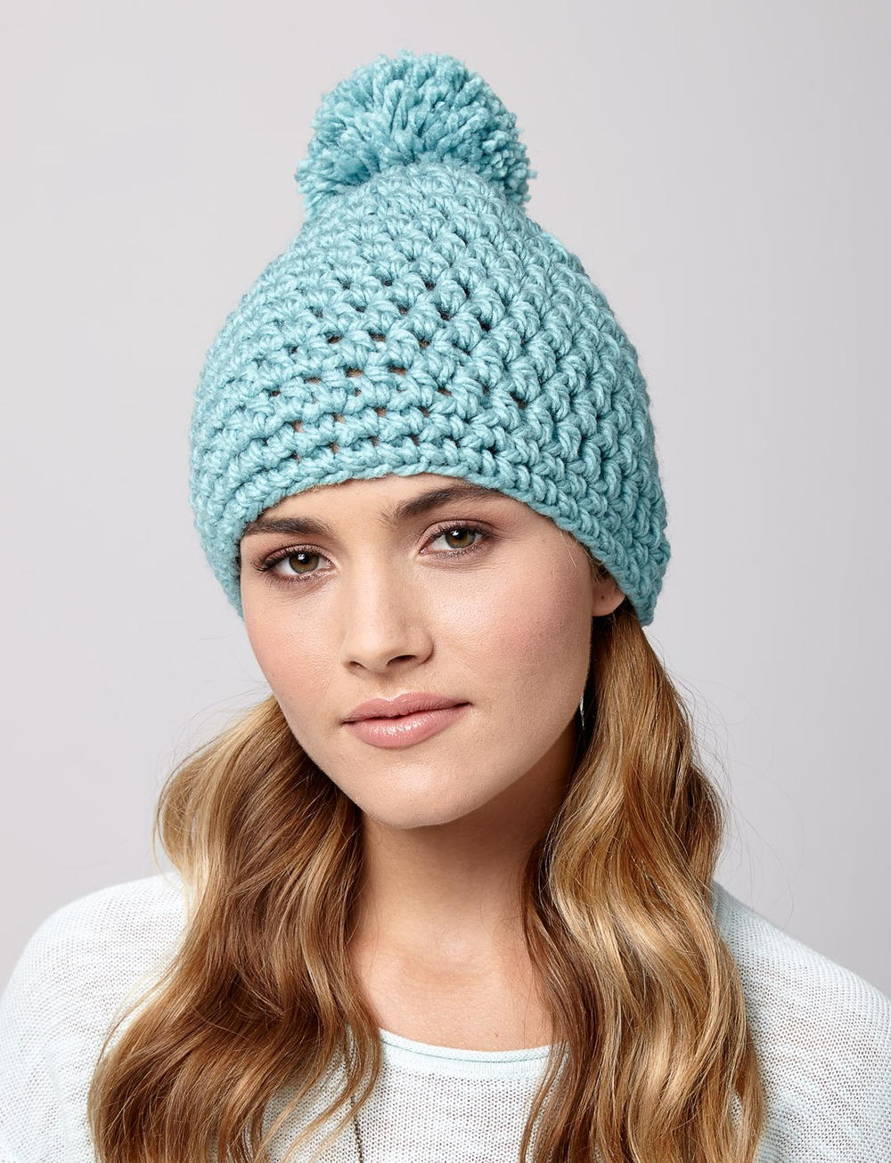 Crochet hat for a cool chic look