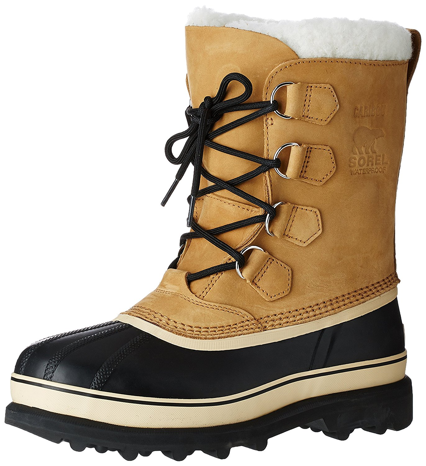 sorel boots sorel menu0027s caribou buff winter boot: amazon.ca: shoes u0026 handbags XTUEIHN