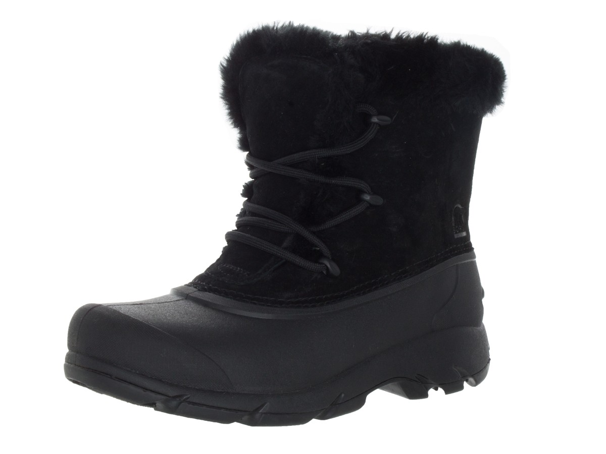 sorel womenu0027s snow angel lace boot | womens sorel boots | 1092881010_010 |  black ZLPGCOM