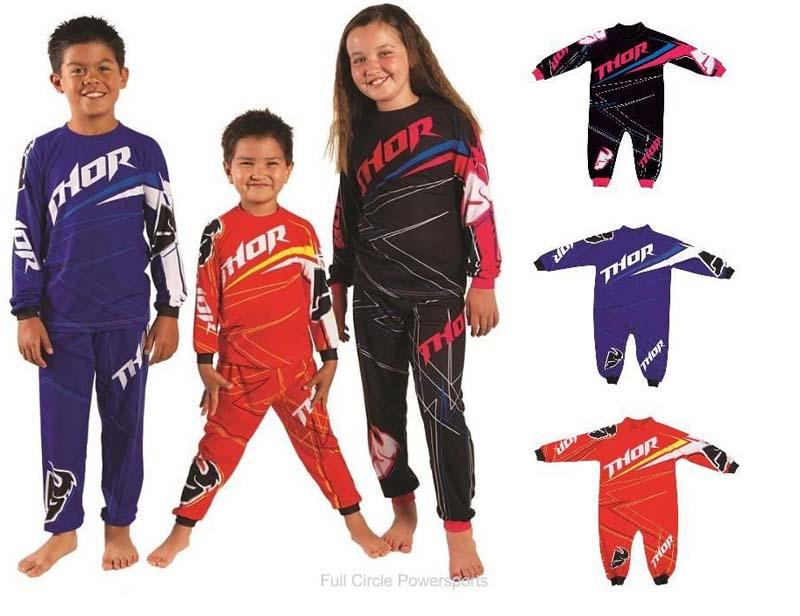 sports wear k.j. sportswear california thor one piece and two-piece pajamas ISWMGGE