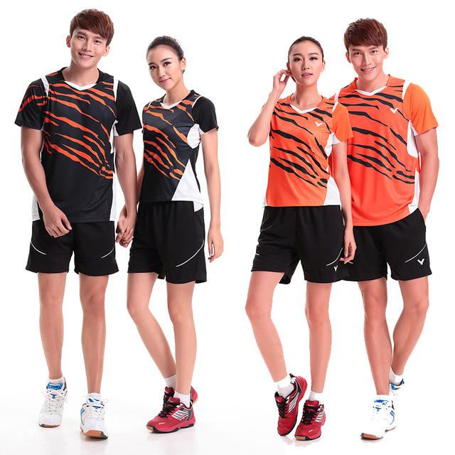 sports wear malaysia national team badminton sportswear set ( t-shirt + shorts) t5503  quick dry CDNTFTP
