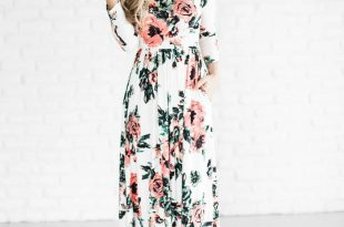 spring dresses classic rose maxi dress- july 24th WEEUXTC