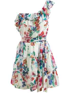 spring dresses flowery one strap spring dress. LTOPWNR