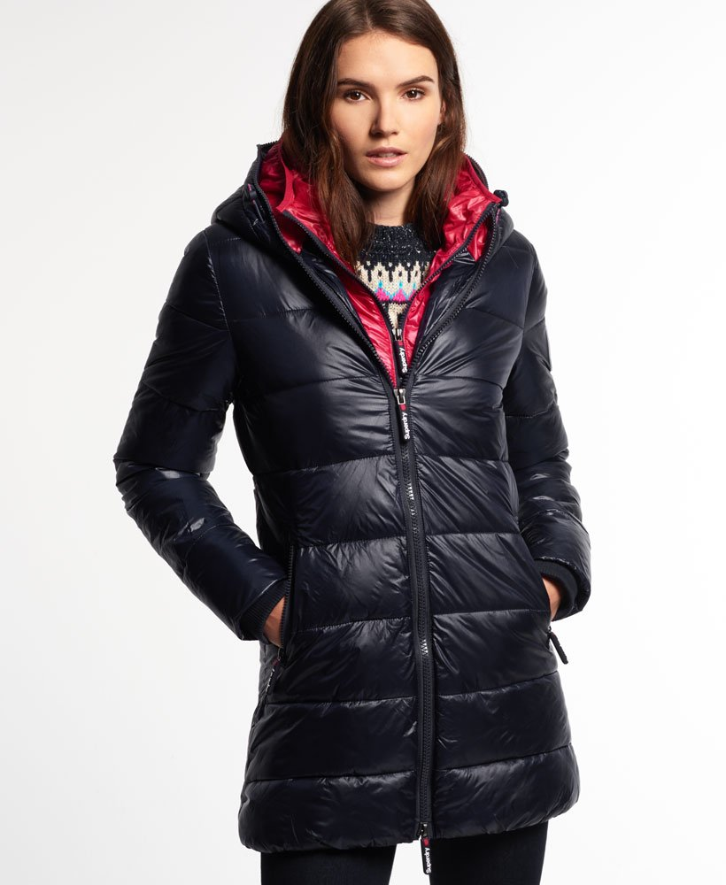 Winter fashion with puffer jacket