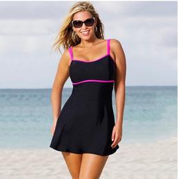 swimming suits 2016 plus size swimwear l-xl- 2xl-3xl- 4xl-5xl 2 pieces triangle spaghetti  dress bathing suits TGWOOQE