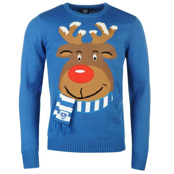 team | team portsmouth christmas jumper mens | christmas jumpers MQMEQPF