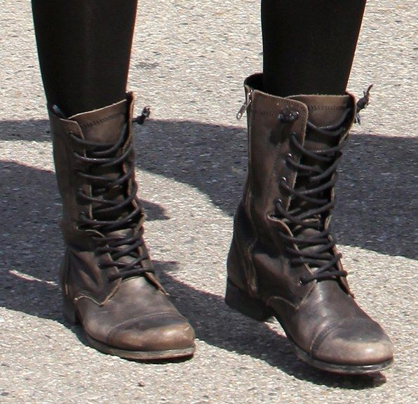 the hottest trend in footwear: combat boots! keep your eyes peeled, you just LDIPBJX
