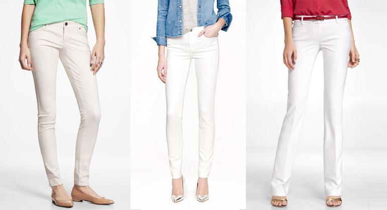 the secret to white pants revealed JNFHEFB