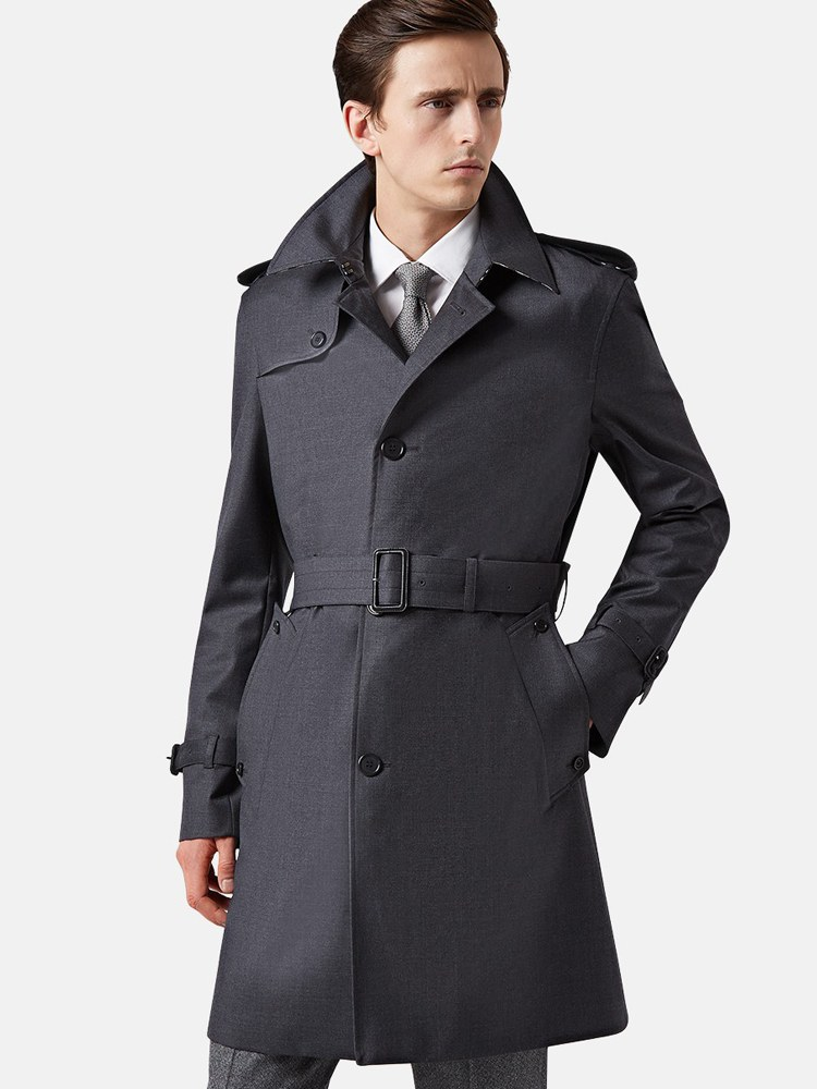 the trench coat is the new leather jacket ERLYMMO