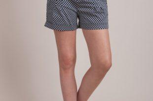 tile print cotton maternity shorts tile print cotton maternity shorts SBLHDBV