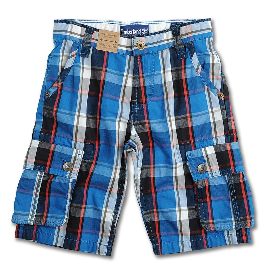 timberland bermuda shorts in blue MKWZHAL