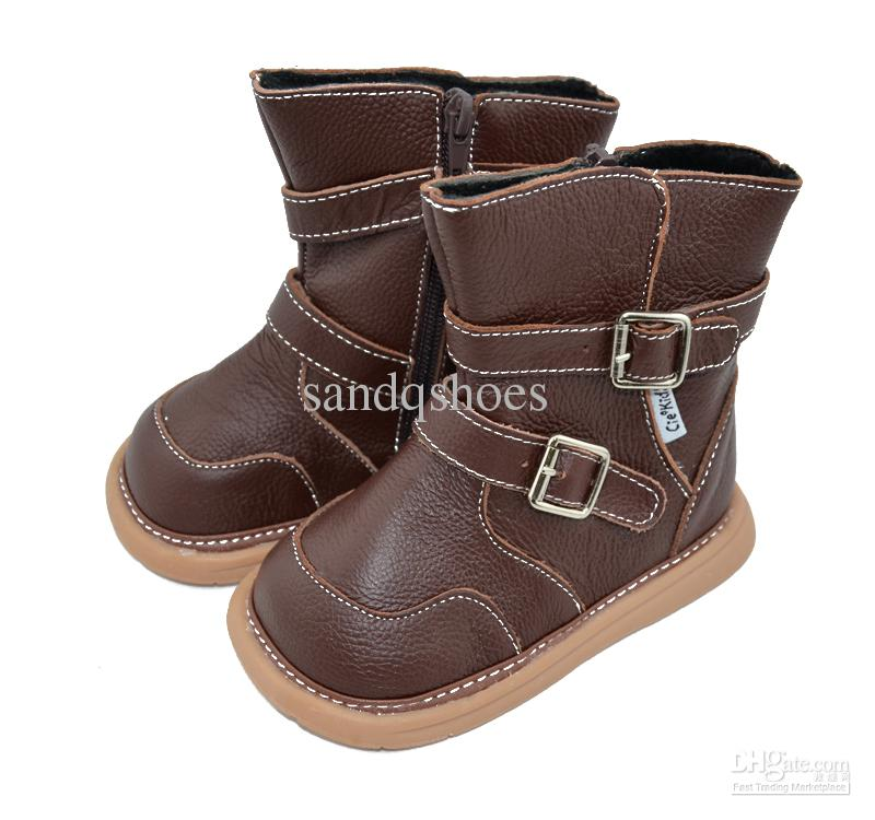 toddler boots genuine leather boots,baby boots, sqc13-brown,baby shoes, kids shoes HMLMNAF