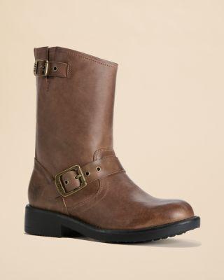 toddler boots small frye toddler girlsu0027 engineered zip boots - baby, walker, toddler |  bloomingdaleu0027s ICOYRPI