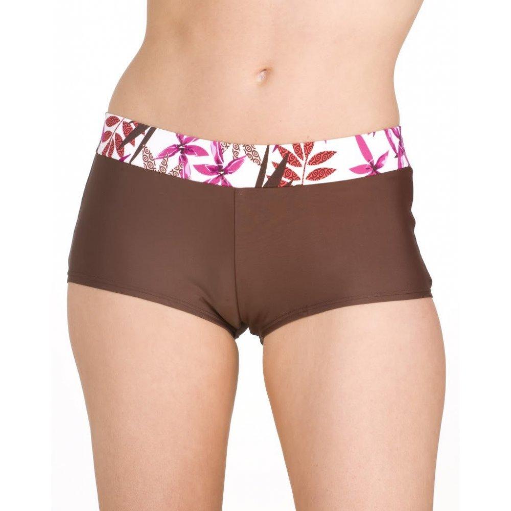 tropicana bikini shorts with waist band pink sizes 10-16 YGNLRBO
