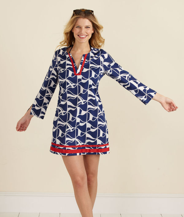 tunic dress provides femininity to both slender and curvy women ZMZEJCS