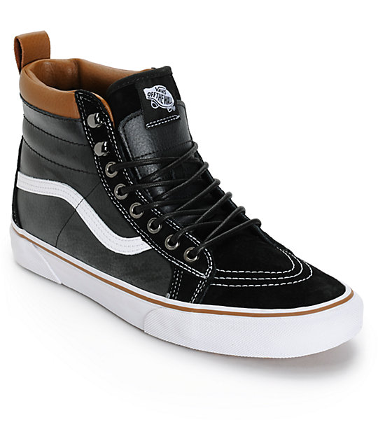 vans high tops vans sk8-hi mte skate shoes RWOWZCP