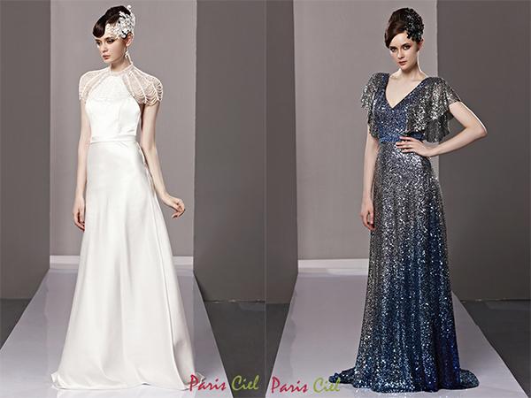 vintage inspired dresses fashion 101: neckline · 6 magnificent vintage inspired evening dresses VFLIDPF