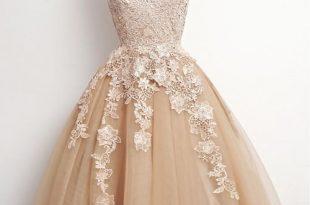 vintage prom dresses lovely short champagne tulle homeco. vintage prom dresseslace ... LICNGND