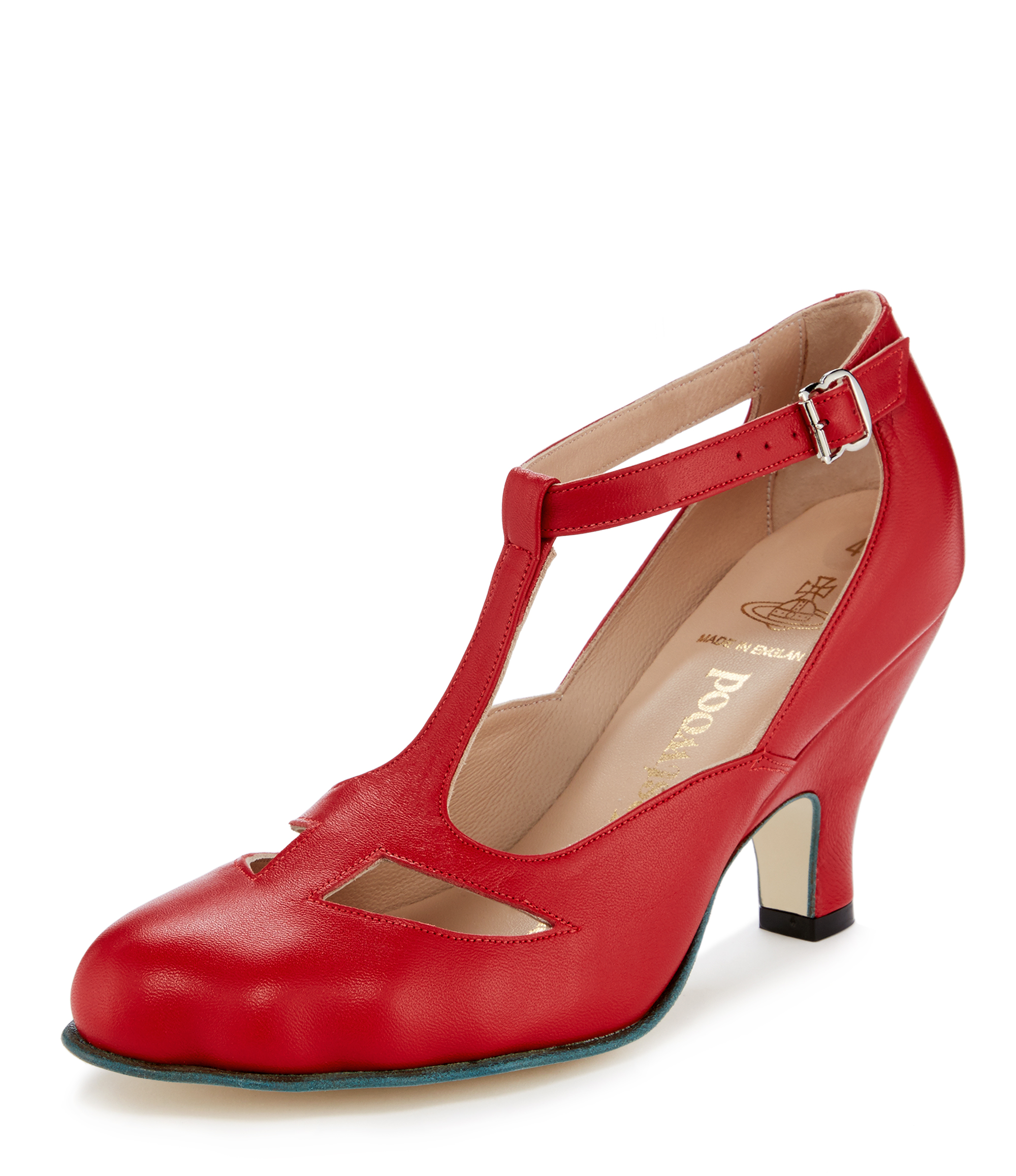 vivienne westwood shoes red t-bar shoes ... EJVDWKQ